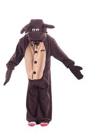 Детская пижама-кигуруми Лосенок