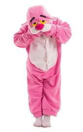 Детская пижама-кигуруми Розовая Пантеры