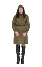 Женский военный костюм