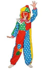 Разноцветный костюм клоуна Фили