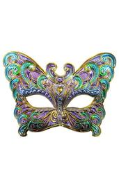 Маска Цветная бабочка