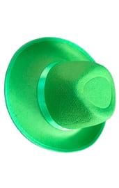 Карнавальная шляпа зеленая