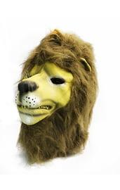 Латексная маска Льва