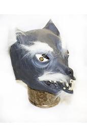 Латексная маска волка