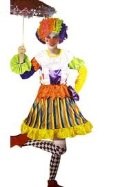 Женский костюм Клоун
