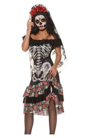 Платье Цветочный скелет