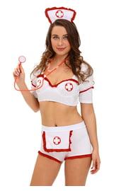 Комплект медсестры с шортиками