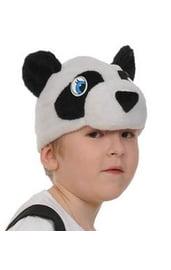Шапочка-маска панда