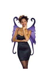 Фиолетовые крылья готической феи