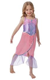 Платье русалочки фиолетово-розовое