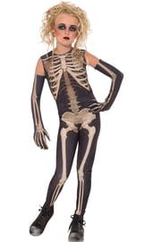 Костюм девочки скелета