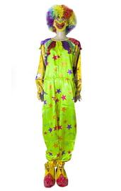 Яркий клоунский костюм