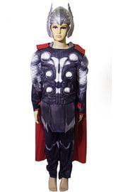 Детский костюм Тора с мышцами