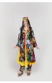 Национальный костюм узбечки