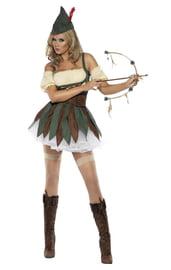 Женский костюм Отважного Робина Гуда