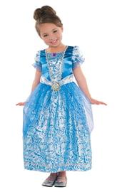 Детский костюм Золушки в голубом