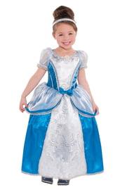 Костюм Золушки в серебристом платье