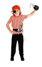 Детский костюм полосатого пирата