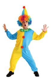 Детский костюм Яркого клоуна в колпаке