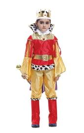 Детский костюм Юного Красно-золотого короля