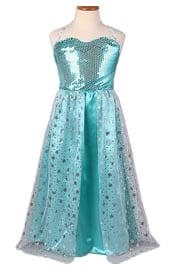 Детское платье Снежной Королевы Эльзы