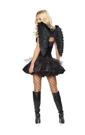 Черные крылья темного Ангела