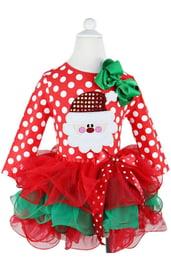 Новогоднее платье для малышки