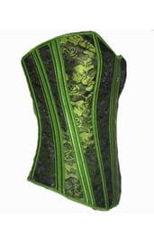 Зеленый корсет