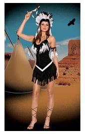 Костюм Индианки из племени Апачи