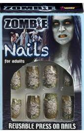 Ногти накладные Зомби