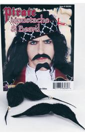 Борода и усы для пирата