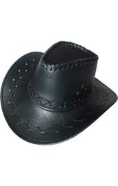 Ковбойская шляпа черная