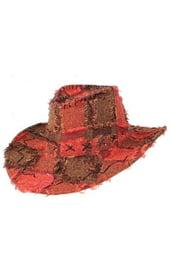 Шляпа ковбойская текстильная
