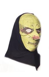 Латексная маска с капюшоном