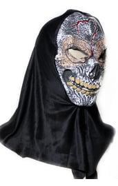 Латексная маска Жуткий череп