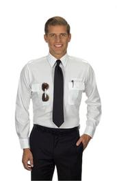 Белая рубашка пилота