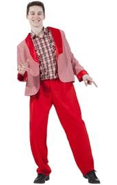Красный костюм стиляги