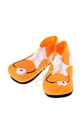 Ботинки клоуна желтые