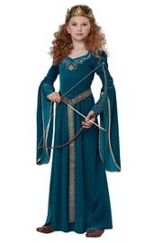 Детский костюм Мериды в платье