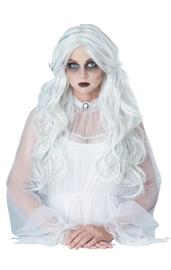 Белый парик призрака