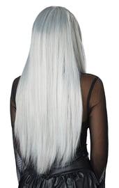 Готичный седой парик
