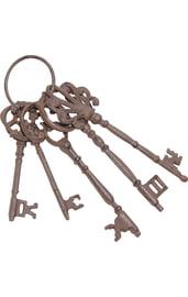 Связка железных ключей