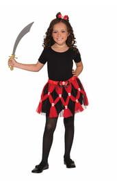 Детская пиратская юбка