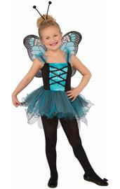 Детский костюм голубой бабочки
