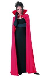 Красный плащ для костюма вампира