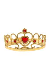 Золотая корона с камнями