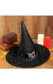 Колпак ведьмы с черным ремешком
