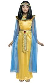 Детский костюм Золотой Клеопатры