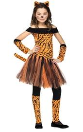 Детский костюм юной тигрицы