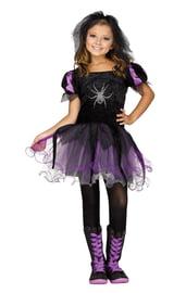 Детский костюм ведьмы Паучок